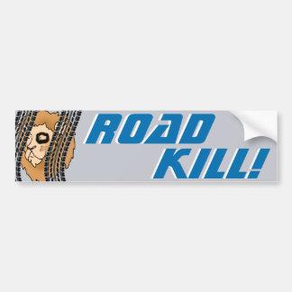 ROADKILL! - Detroit Lions Bumper Sticker