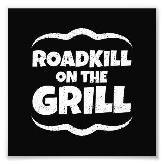 Roadkill en la parrilla - fiesta del Bbq del Fotografías