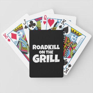 Roadkill en la parrilla - fiesta del Bbq divertido Baraja De Cartas