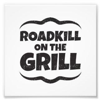 Roadkill en la parrilla - fiesta del Bbq divertido Fotografía