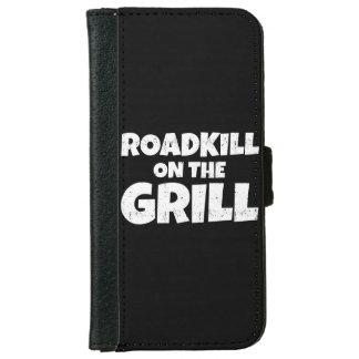 Roadkill en la parrilla - fiesta del Bbq divertido Funda Cartera Para iPhone 6