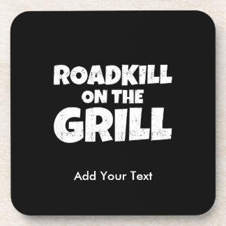 Roadkill en la parrilla - fiesta divertido del Bbq Posavasos De Bebidas