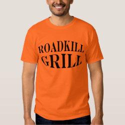 Roadkill Grill Funny BBQ Chef's T-Shirt