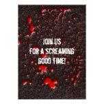 Roadkill Horror Halloween Invitation