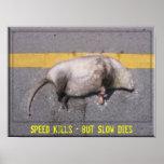 Roadkill Motivational Poster