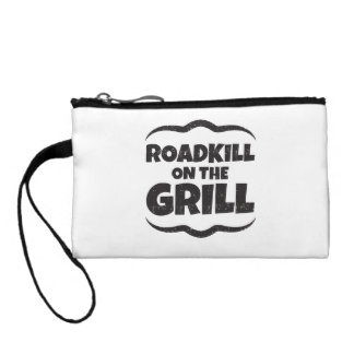 Roadkill on The Grill - BBQ Party Funny Coin Wallet