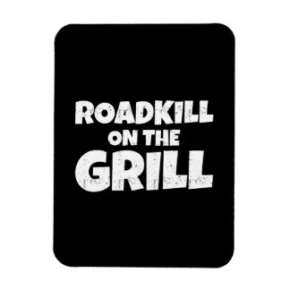 Roadkill on The Grill - BBQ Party Funny Magnet