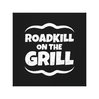 Roadkill on The Grill - Summer BBQ Party Canvas Print