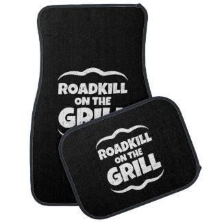 Roadkill on The Grill - Summer BBQ Party Car Floor Mat