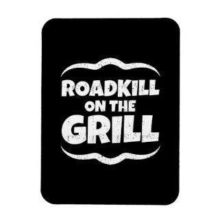 Roadkill on The Grill - Summer BBQ Party Magnet