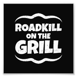 Roadkill on The Grill - Summer BBQ Party Photo Print