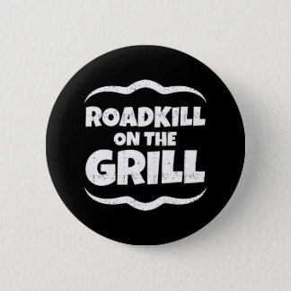 Roadkill on The Grill - Summer BBQ Party Pinback Button