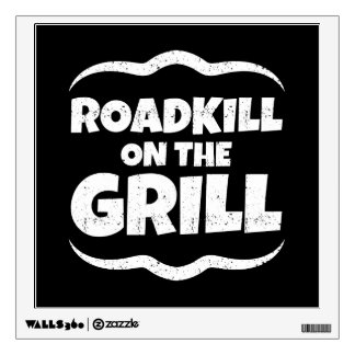 Roadkill on The Grill - Summer BBQ Party Wall Sticker