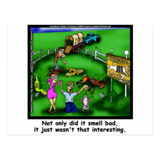 Roadkill Petting Zoo Funny Tees & Gifts Postcard