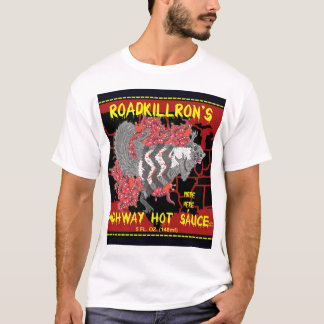 RoadkillRon's Highway Hot Sauce T-Shirt