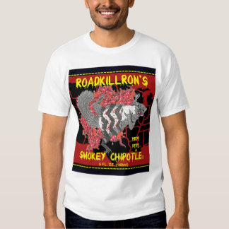 RoadkillRon's Smokey Chipotle T Shirts