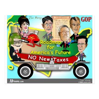Roadmap for America Postcard