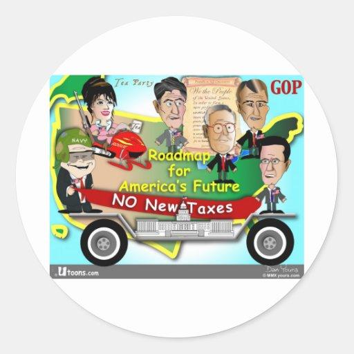 Roadmap for America Stickers