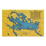 Roadmap of the Lake and Highways Print