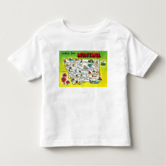 Roadmap of the State, Greetings From Toddler T-shirt