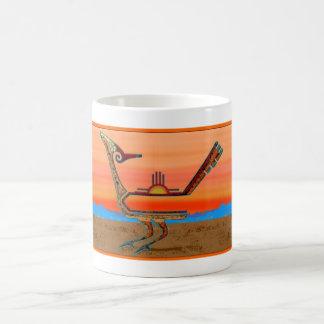 Roadrunner at Sunset Classic White Coffee Mug