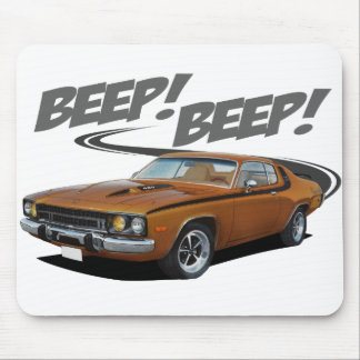 Roadrunner Beep Mouse Pad