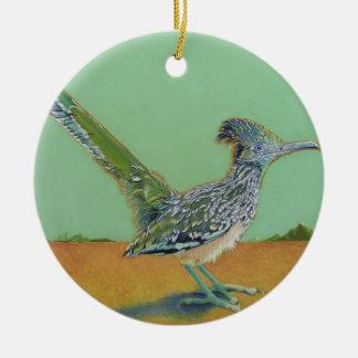 Roadrunner Ceramic Ornament