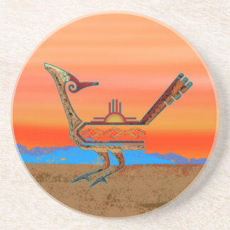 Roadrunner de New México Posavasos Manualidades