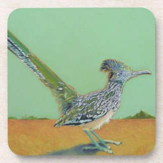 roadrunner drink coaster
