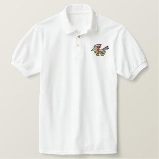 Roadrunner Embroidered Polo Shirt