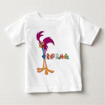 Roadrunner Head Tilted Baby T-Shirt