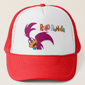 Roadrunner Head Tilted Trucker Hat