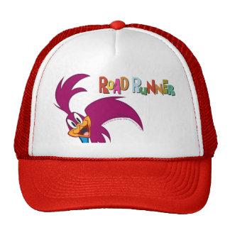 Roadrunner Head Tilted Trucker Hat
