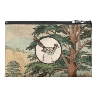 Roadrunner In Natural Habitat Illustration Travel Accessories Bag