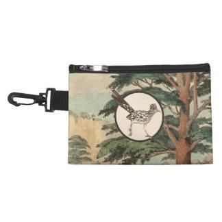 Roadrunner In Natural Habitat Illustration Accessory Bags