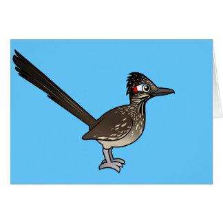 Roadrunner lindo de Birdorable Felicitación