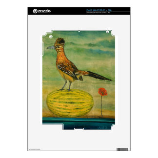 Roadrunner On A Melon iPad 2 Decals