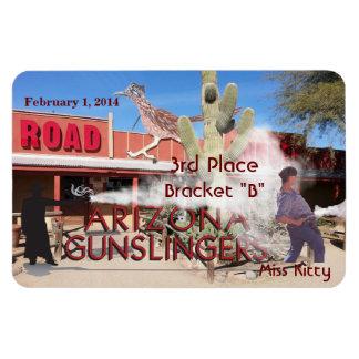 Roadrunner Saloon Bracket B 3rd Place Rectangular Photo Magnet