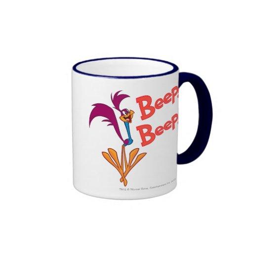 Roadrunner Side Profile Ringer Coffee Mug