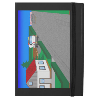 """Roads and building of houses iPad pro 12.9"""" case"""