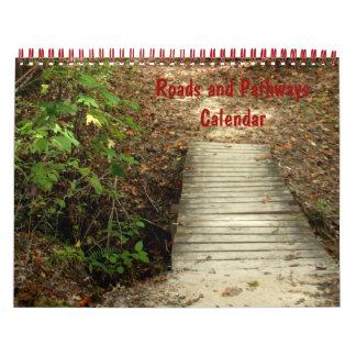 Roads and Pathways Calendar