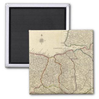 Roads of France Magnet