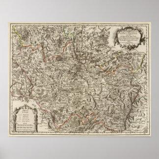 Roads of France Print