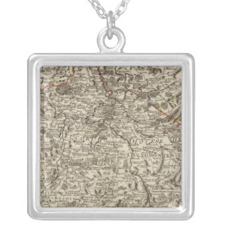 Roads of France Silver Plated Necklace