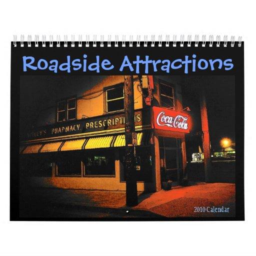 Roadside Attractions 2010 Calendar