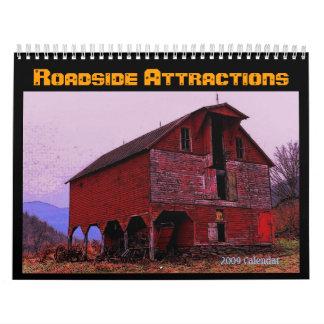 Roadside Attractions Calendar