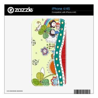 Roadside iPhone 4S Skins