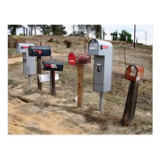 Roadside Mailboxes in Murrieta, CA Postcard