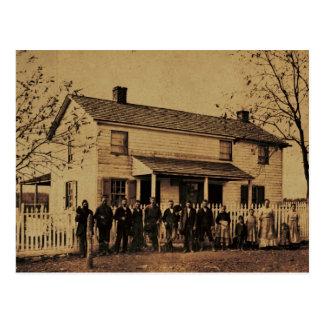 Roadside Rest Stop, York Co., Pennsylvania c.1870 Postcard