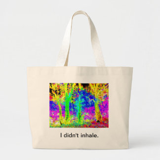Roadside Scene Canvas Bag